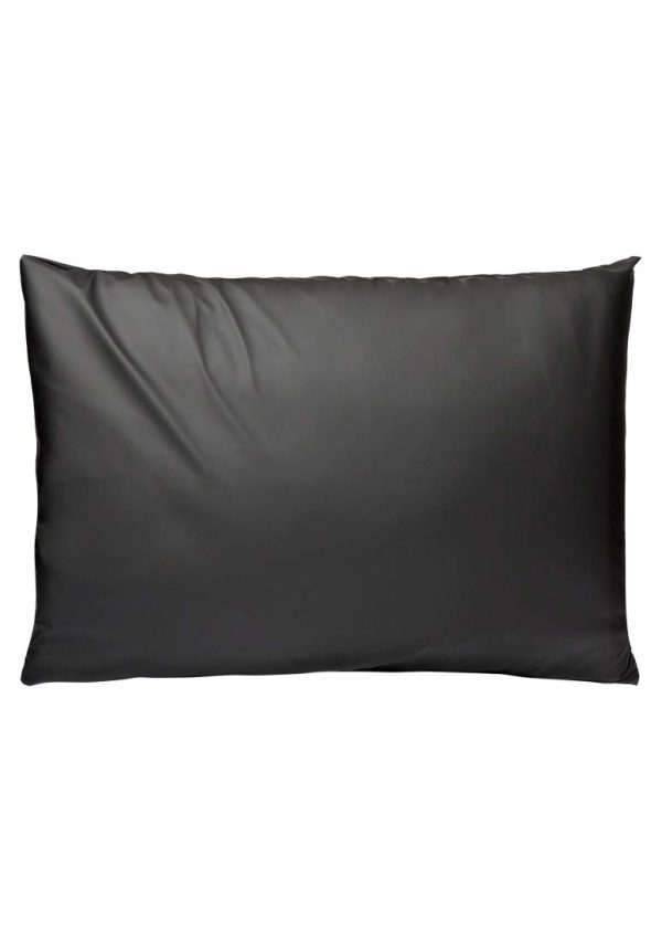 KINK By Doc Johnson Wet Works Fitted Waterproof Queen Sheet, Black