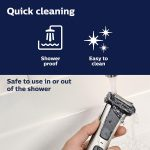 Philips Norelco BG7040/42 Bodygroom Series 7000 Showerproof Body Trimmer & Shaver with Case and Replacement Head