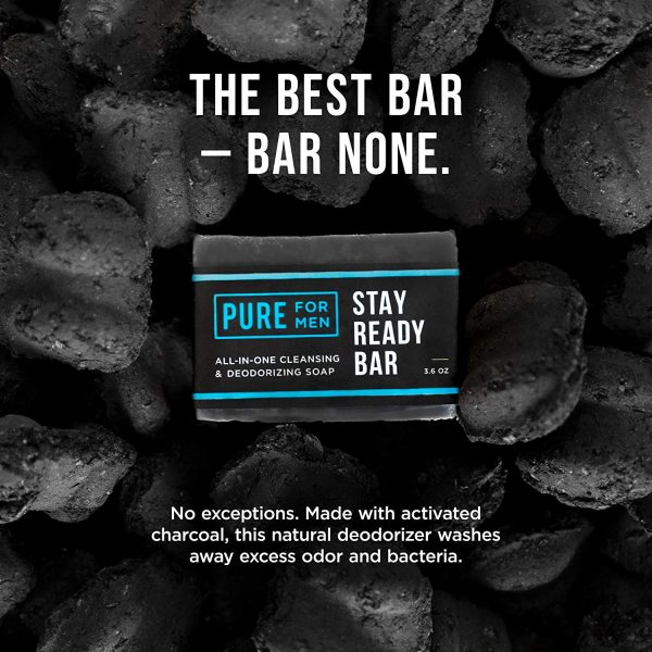 Stay Ready Bar   Pure for Men's Stay Ready Hygiene Collection