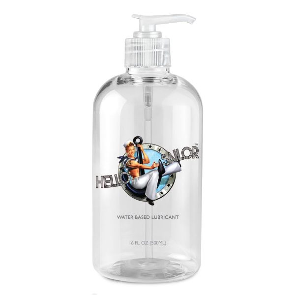 A premium natural water based personal lubricant that comes in designer packaging.