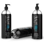 Silicone Based Personal Lubricant by Healthy Vibes, 32 Oz