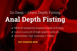 Anal Depth Fisting guide