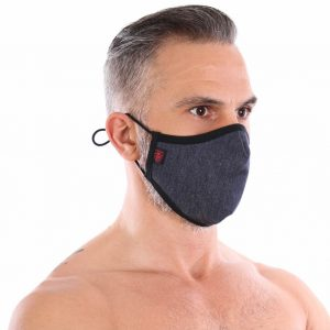 TOF Paris Denim Face Mask