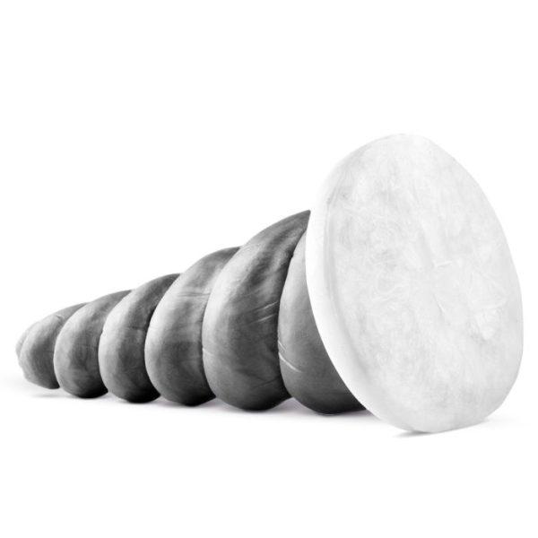 Sinnovator Matia Unicorn Horn Platinum Silicone Dildo 10.5 Inches
