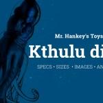 Kthulu dildo Mr. Hankey's toys