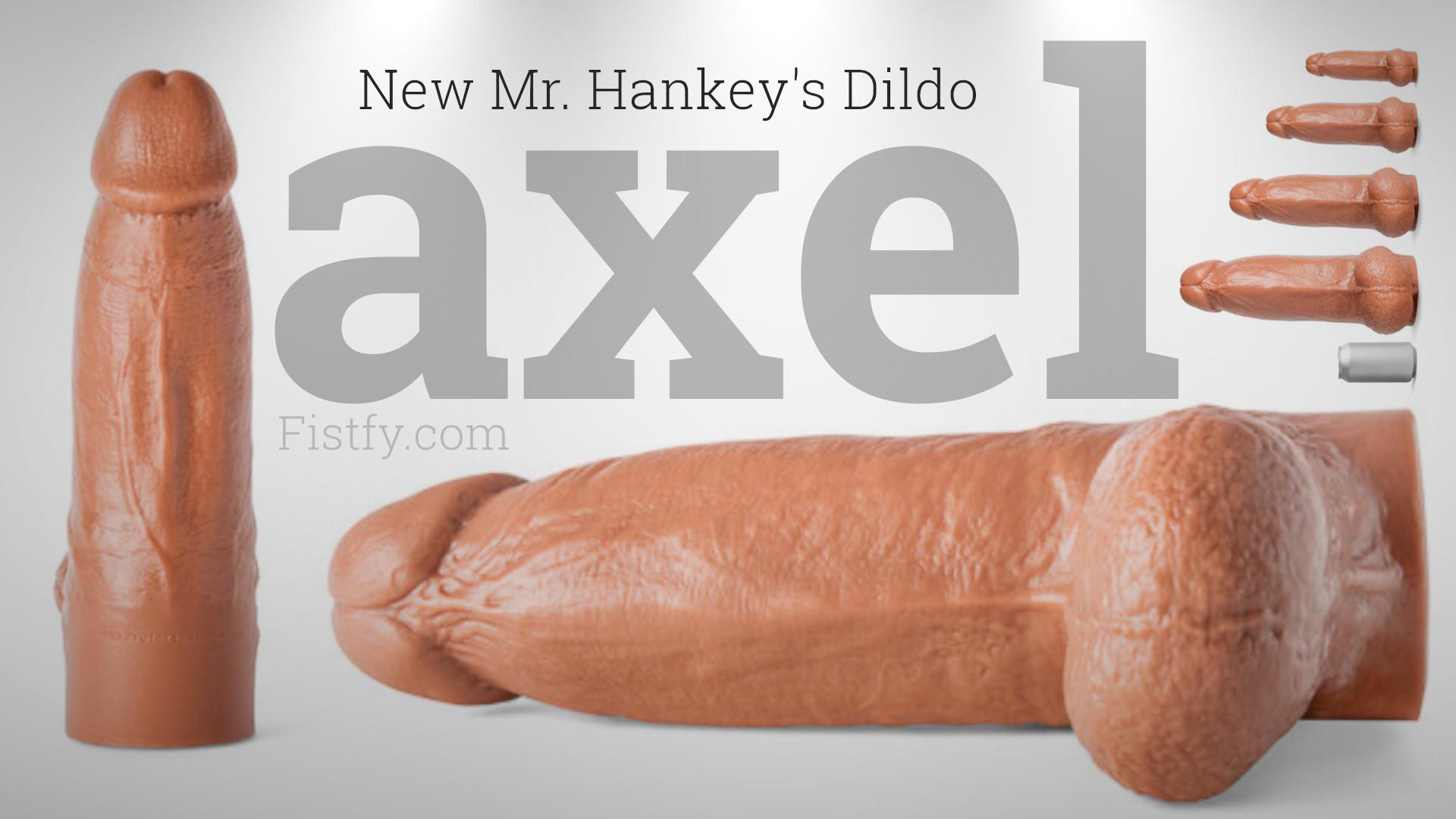 Mr. Hankeys Toys Axel dildo
